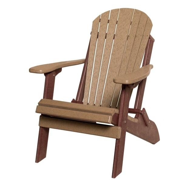 Poly Folding Adirondack Chair