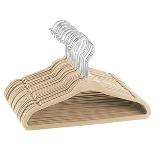 "Kids Velvet Hangers Perfectly Sized For Kids 14"" Wide (50 pack)"