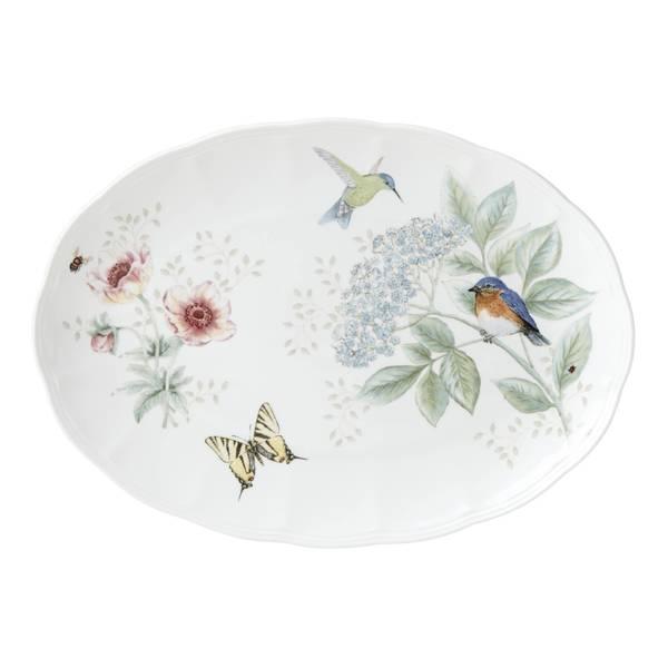 Lenox Butterfly Meadow Flutter Oval Platter 33917497