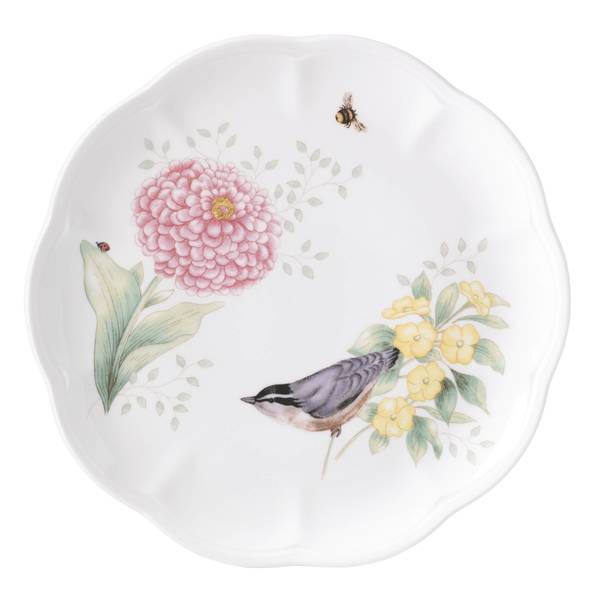 Lenox Butterfly Meadow Flutter Goldfinch Accent Plate 33917568