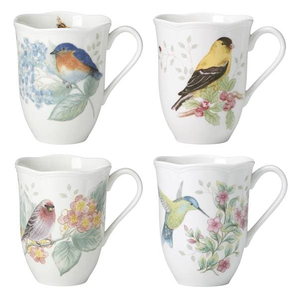 Lenox Butterfly Meadow Flutter Mugs, Set of 4 33917601