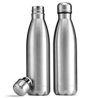 18/8 Double-Wall Insulated Stainless Steel Water Bottles 2 33931399