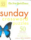 The New York Times Sunday Crossword Puzzles: 50 Sunday Puzzles from the Pages of the New York Times (Spiral bound)