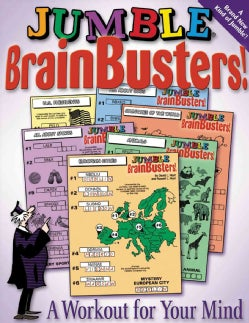 Jumble Brain Busters!: A Workout for Your Mind (Paperback)