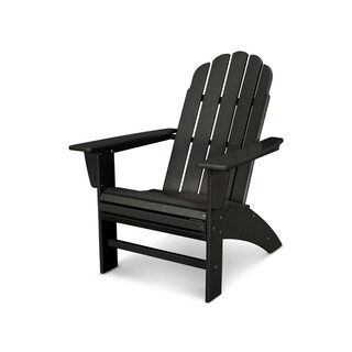 POLYWOOD® Vineyard Outdoor Curveback Adirondack Chair