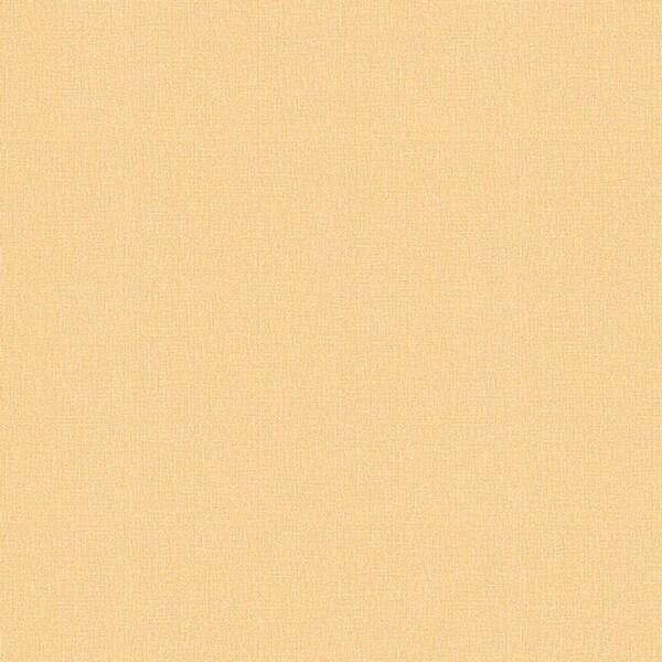 Pollyanna Orange Linen Texture Wallpaper