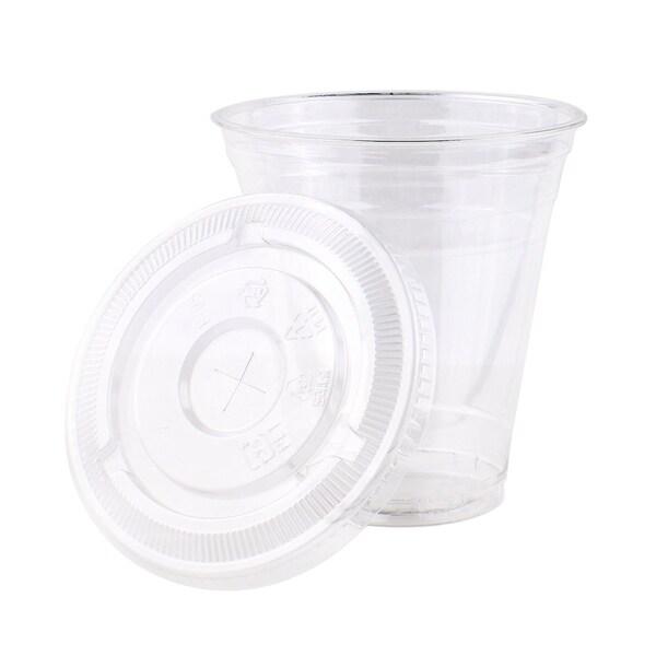 12 oz PET Cups with Lids (800) 33983408