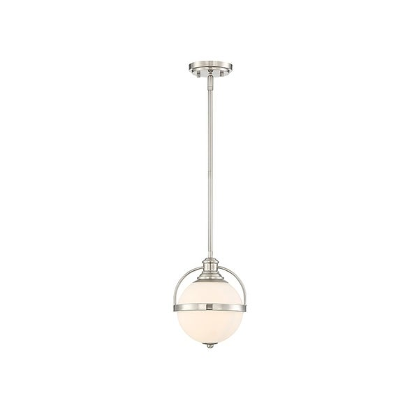 Westbourne Satin Nickel 1-light 43-inch Pendant 34000265