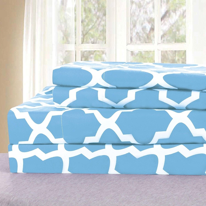 Porch /& Den Quatrefoil Bedding Deep Pocket Bed Sheets Set