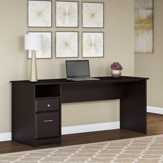 Copper Grove Burgas 72-inch Computer Desk with Drawers in Espresso Oak