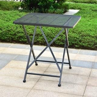 International Caravan Mandalay 28-inch Folding Patio Bistro Table