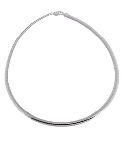 Sterling Essentials Sterling Silver 16-inch Omega Necklace (6mm)