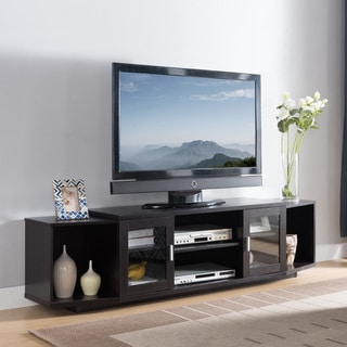 Furniture of America Rasa Contemporary 72-inch Metal Storage TV Stand