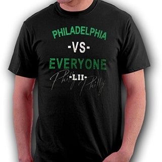 Philadelphia VS Everyone LII Fan T-Shirt - Black