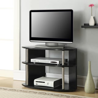 Porch & Den Derbigny Swivel TV Stand