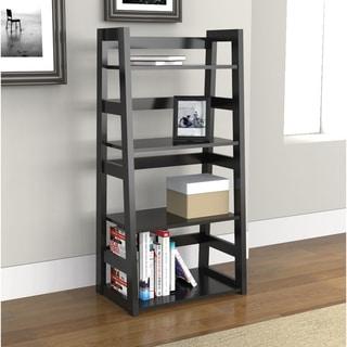 Porch & Den Logan 4-tier Trestle Bookcase