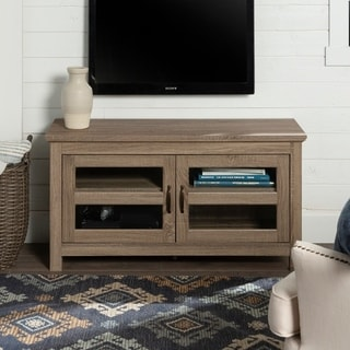 Copper Grove Macaulay 44-inch Driftwood TV Stand Console