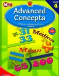 Brighter Child Master Math Advanced Concepts, Grade 4 (Paperback)