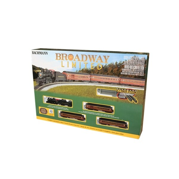 Bachmann Trains THE BROADWAY LIMITED Ready to Run Electric Train Set -N Scale 34087943
