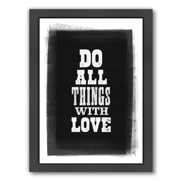 Do All Things With Love Letterpress 34113332