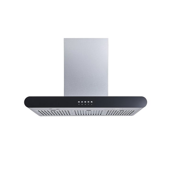 "Winflo O-W152C30D 30"" 400 CFM Convertible Stainless Steel Wall Mount Range Hood 34127775"