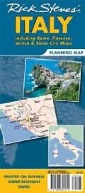 Rick Steves' Italy: Including Rome, Florence, Venice & Siena City Maps (Sheet map, folded)