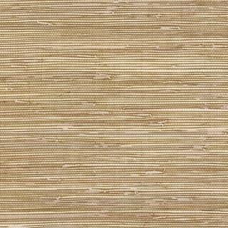Manhattan Comfort Elmhurst 32.7 Ft. x 20.5 In. Vinyl Brown Horizontal Faux Grasscloth Wallpaper Covering