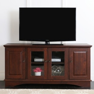 Copper Grove Angelina 52-inch Traditional Brown TV Stand Console