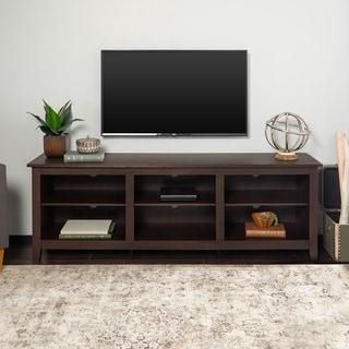 Copper Grove Beaverhead 70-inch Espresso TV Stand Console
