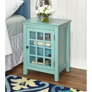 Copper Grove Penrose Turquoise Accent Table
