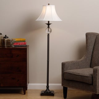 Glass/ Metal Floor Lamp