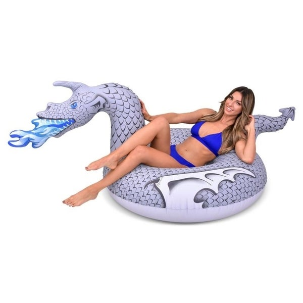 GoFloats Ice Dragon Party Tube Inflatable Raft, Ride into Summer as King of the North (for Adults and Kids) 34249172