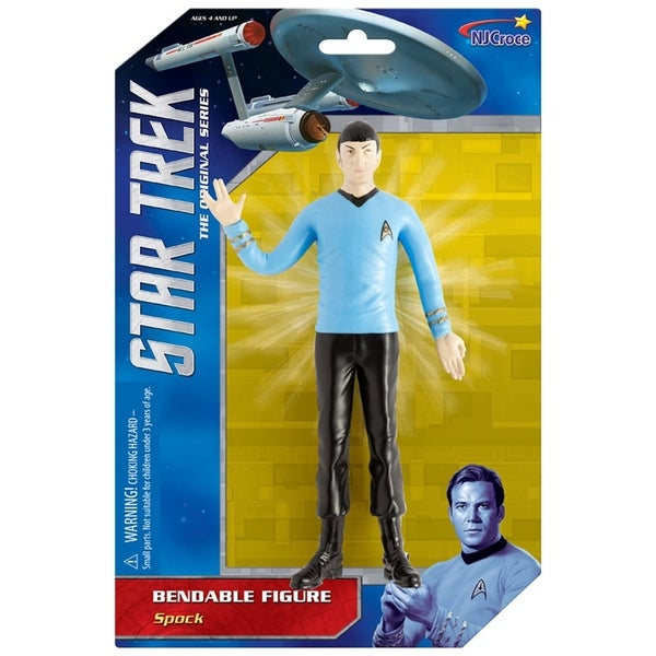 "NJ Croce Star Trek: Spock 6"" Benbable Action Figure 34270216"