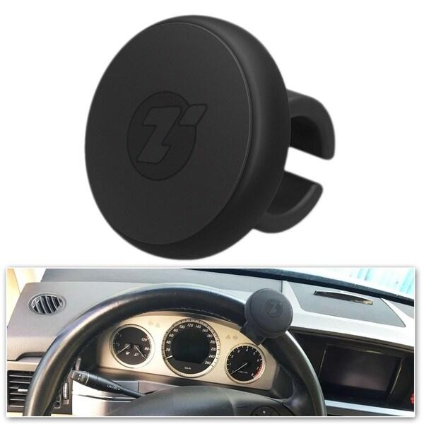 Zone Tech Steering Wheel Spinner - Premium Quality Classic Black Silicone Power Handle Steering Wheel Knob 34270512