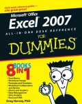 Excel 2007 All-in-one Desk Reference for Dummies (Paperback)