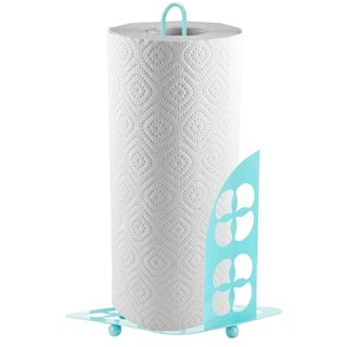 Sweet Home Collection Paper Towel Holder Trinity (Turquoise)