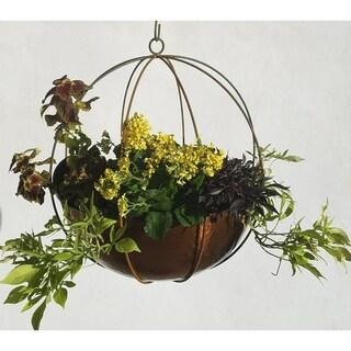 Extra Large Hanging Globe Planter