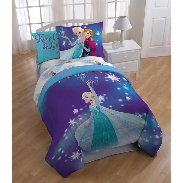 disney frozen bedding with elsa and anna tktb. Black Bedroom Furniture Sets. Home Design Ideas