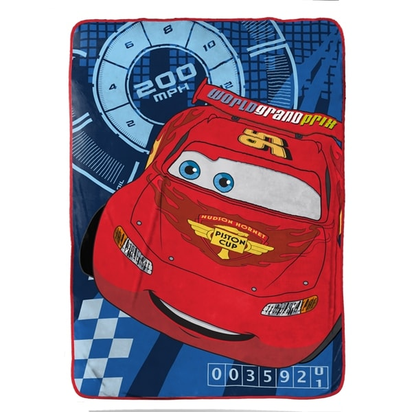"Disney/Pixar Cars City Limits Plush 62"" x 90"" Twin Blanket 34309696"