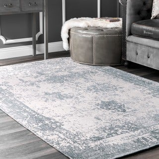 The Gray Barn Maplewood Handmade Distressed Abstract Vintage Wool Area Rug