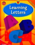 Brighter Child Learning Letters, Preschool (Paperback)
