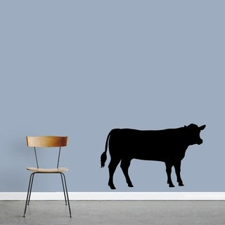 Cow Silhouette Wall Decal