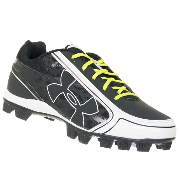 Under Armour Women's Glyde RM Softball Cleat Black/White 34371103