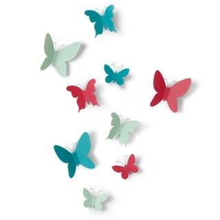 Umbra Mariposa Wall Decor (Set of 9)