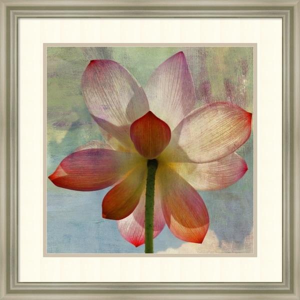 Framed Art Print 'Lovely lily ii' by PI Studio  24 x 24-inch 34412287