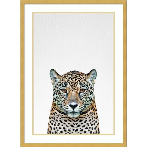 Framed Art Print 'Leopard II' by Tai Prints 21 x 29-inch 34412311