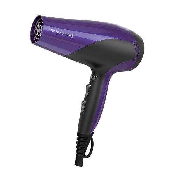 Remington D3190A Damage Control Ceramic Hair Dryer, Ionic Dryer, Hair Dryer, Purple 34412357