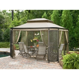 Sunjoy Replacement Canopy Set for L-GZ278PST-1 Lattice Panel Gazebo