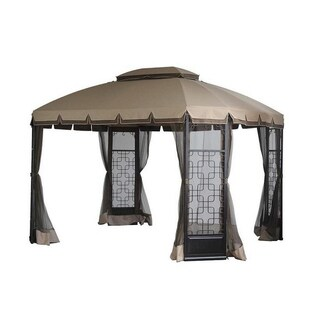 Sunjoy Replacement Canopy set (Deluxe) for L-GZ454PST-A Trellis Gazebo