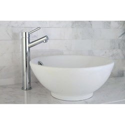 Round Vitreous China Vessel Sink